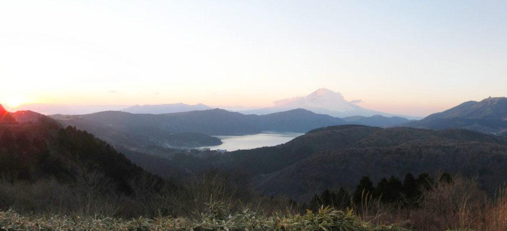 Hakone, Giappone, panorama