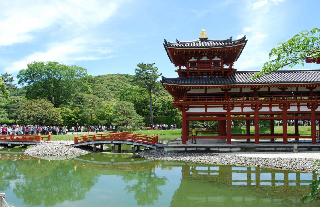 Giardino del tempio di Byodoin, Uji, - Kyoto (Giappone)