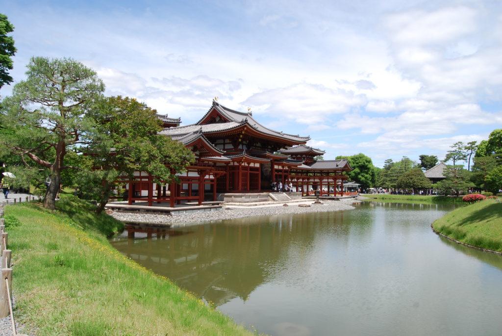 Lago del tempio di Byodoin, Uji, - Kyoto (Giappone)