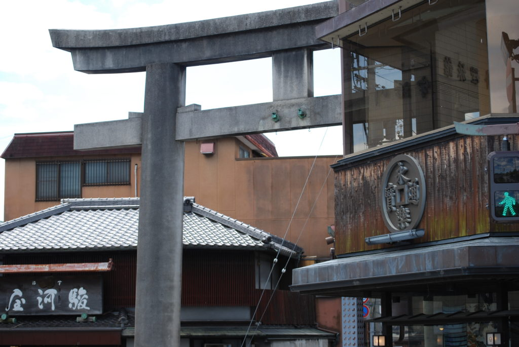 Strade di Uji, - Kyoto (Giappone)