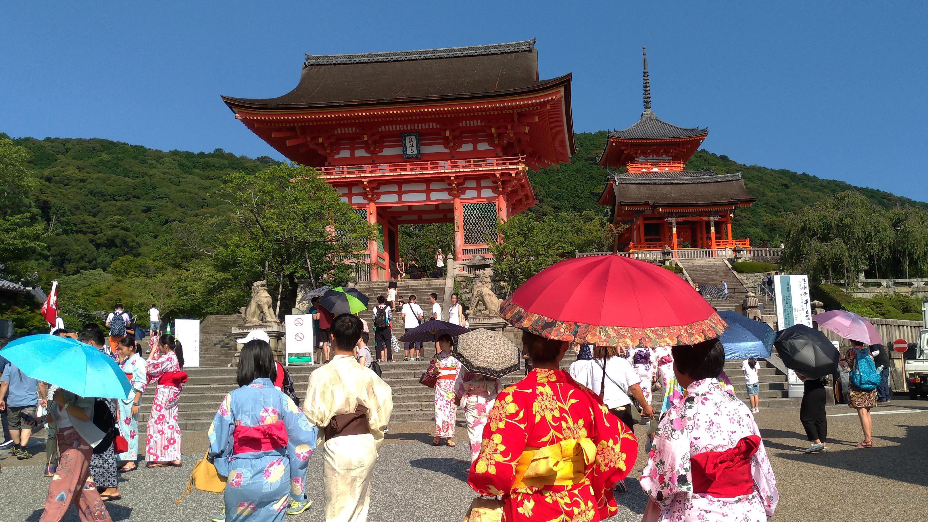 Guida Giappone Kyoto Kiyomizudera
